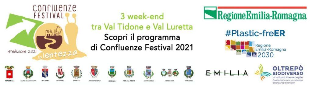 Confluenze Festival 2021 Val Tidone Val Luretta